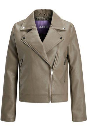 jack & jones Jxgail Biker Faux Leather Jacket