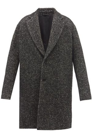 Raey Single-breasted Wool-blend Relaxed Coat - Mens - Multi