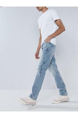 Raey Line Organic Slim-leg Jeans - Mens - Indigo