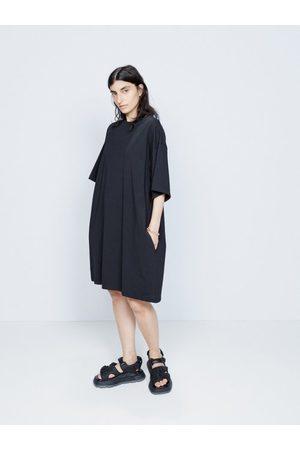 Raey Recycled-yarn Knee-length T-shirt Dress - Womens