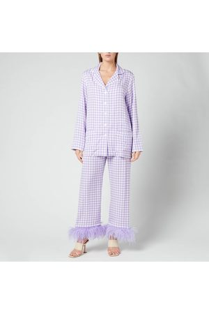 Sleeper Women Pyjamas - Women's Party Pyjama Set With Feathers