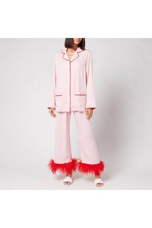 Sleeper Women's Party Pyjama Set With Feathers