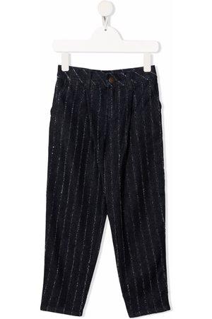 Emporio Armani Kids Pinstripe straight-leg trousers