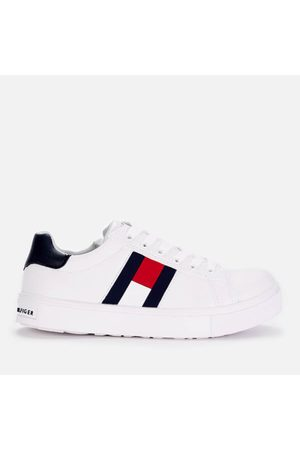 Tommy Hilfiger Boys' Low Top Flag Trainers