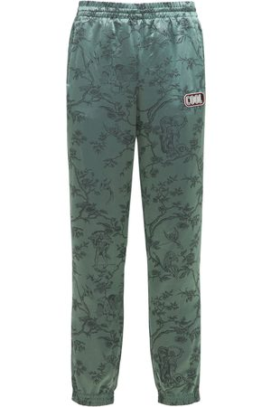 COOL TM Printed Silk Tracksuit Pants