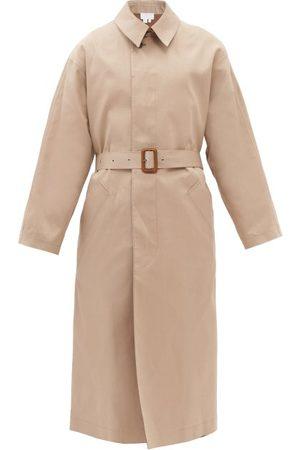 A.P.C. Taped-seam Cotton-gabardine Trench Coat - Womens