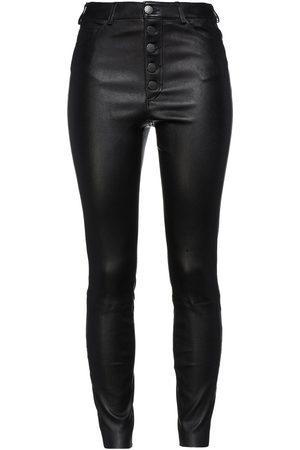 ALICE+OLIVIA Woman Leather Skinny Pants Size 0