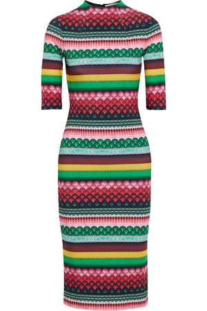 ALICE+OLIVIA Women Casual Dresses - Woman Delora Printed Stretch-jersey Dress Multicolor Size 0
