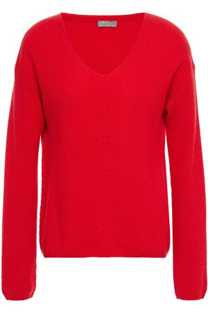 N.PEAL Woman Ribbed Cashmere Sweater Size L