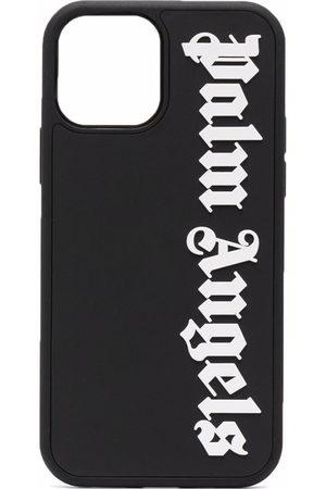 Palm Angels Phones - Logo-print iPhone 12/12 pro case