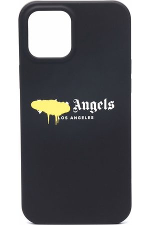 Palm Angels Phones - IPhone 12 Pro logo-print case