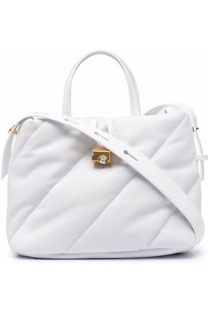 OFF-WHITE Women Handbags - Nailed quilted tote bag
