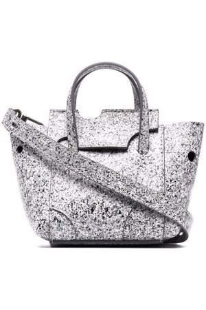 OFF-WHITE Women Handbags - Burrow-16 marbled tote bag