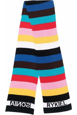 Sonia by Sonia Rykiel Colour-block knitted scarf
