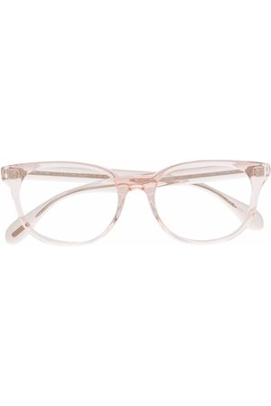 Oliver Peoples Logo square-frame glasses