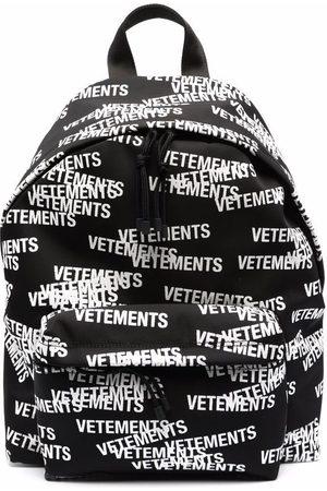 VETEMENTS All-over logo-print backpack