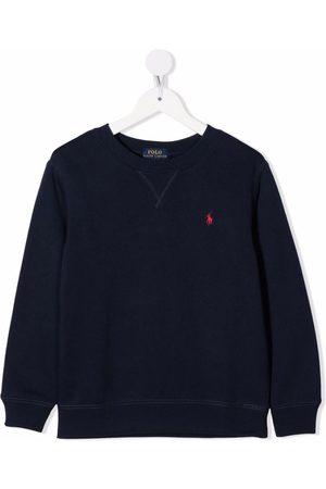 Ralph Lauren Kids Embroidered-logo sweatshirt