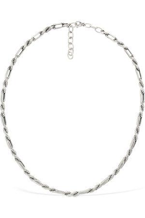 Bottega Veneta Braided Chain Necklace