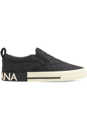 Dolce & Gabbana 20mm Quilted Nylon Sneakers