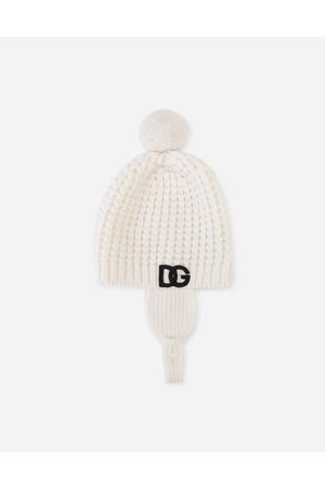 Dolce & Gabbana Men Hats - Collection - Knit hat with DG logo male I