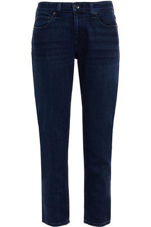 RAG&BONE Women Boyfriend - Woman Dre Faded Slim Boyfriend Jeans Dark Denim Size 24