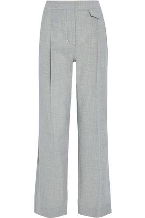 3.1 Phillip Lim Women Formal Trousers - Woman Wool-blend Straight-leg Pants Stone Size 0