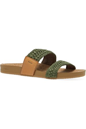 Reef Women Sandals - Cushion Vista Thread s Sandals - Olive