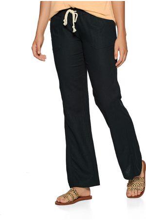 Roxy Oceanside Linen s Trousers - True