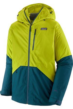 Patagonia Men Coats - Snowshot s Snow Jacket - Chartreuse