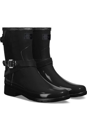 Hunter Ankle Strap Gloss s Wellies - w Logo