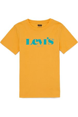 Levi's Graphic Boys Short Sleeve T-Shirt - Kumquat