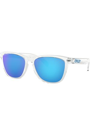 Oakley Sunglasses - Frogskins Sunglasses - Crystal Clear ~ Prizm Sapphire