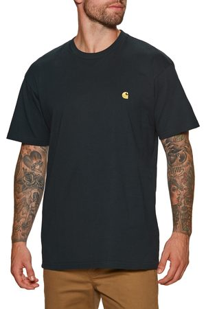 Carhartt Carhartt Chase s Short Sleeve T-Shirt - Dark Navy