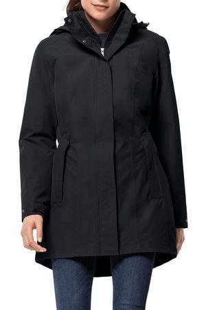 Jack Wolfskin Women Jackets - Madison Avenue s Waterproof Jacket - Phantom