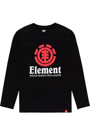 Element Vertical Boys Long Sleeve T-Shirt - Flint