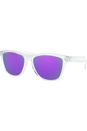 Oakley Frogskins Prizm s Sunglasses - Polished Clear ~ Violet