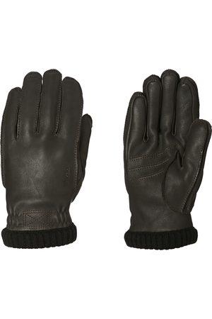 Hestra Deerskin Primaloft Rib s Gloves - Dark