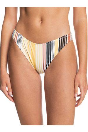 Quiksilver Classic Hi Cut Pant Bikini Bottoms - Stripeadelic