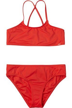 O'Neill Essential Girls Bikini - Hot Coral