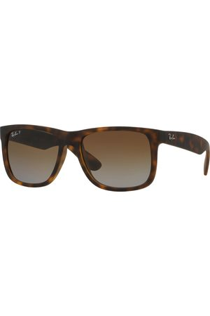 Ray-Ban Justin Polarised s Sunglasses - Havana ~ Gradient