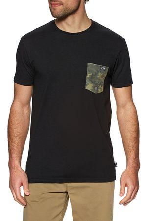 Billabong Men Short Sleeve - Team Pocket s Short Sleeve T-Shirt
