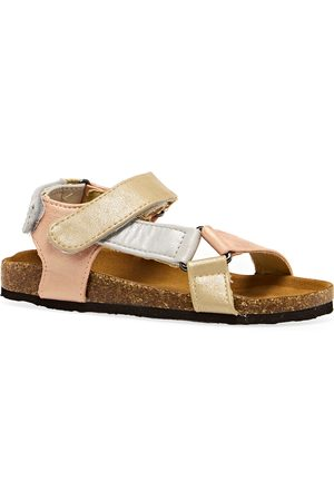 Joules Kira Girls Sandals - Metallic