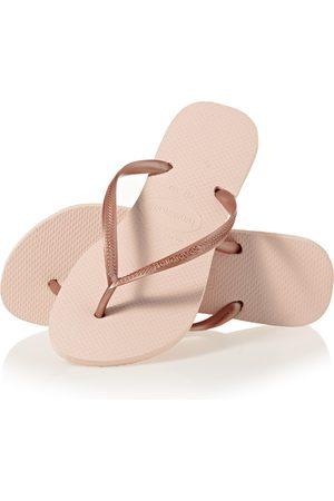 Havaianas Slim s Flip Flops - Ballet Rose