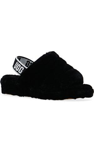 UGG Fluff Yeah Logo s Slippers