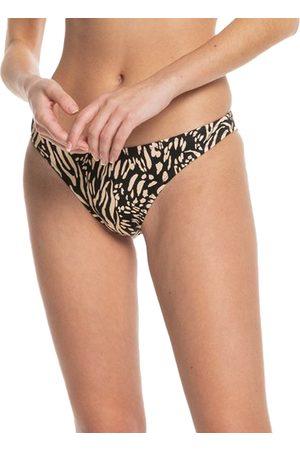 Quiksilver Women Bikinis - Classic Hi Cut Pant Bikini Bottoms - Safari