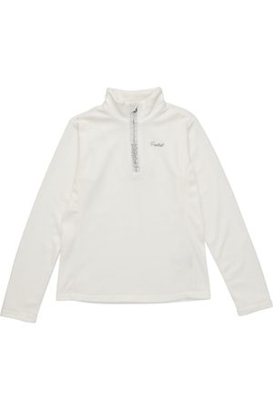 Protest Girls Fleece Jackets - Mutey Quarter Zip Girls Fleece - Seashell