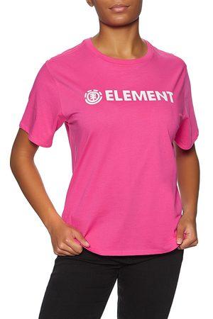 Element Logo s Short Sleeve T-Shirt - Fushia