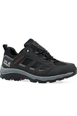 Jack Wolfskin Women Outdoor Shoes - Vojo 3 Texapore Low s Walking Shoes - Dark Steel