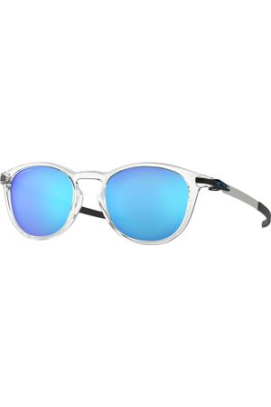 Oakley Sunglasses - Pitchman R Sunglasses - Polished Clear~prizm Sapphire