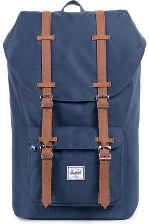 Herschel Herschel Little America s Backpack - Navy tan Synthetic Leather